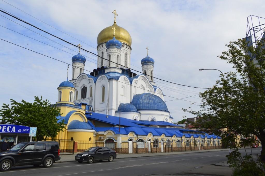 Pravoslavná katedrála - prospekt Svobody