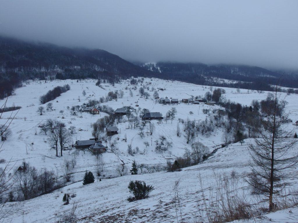 Zasněžená dolina Užanský národní park